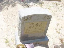 William Jordon Willie Barnett
