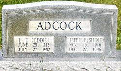 L. E. EDDIE Adcock