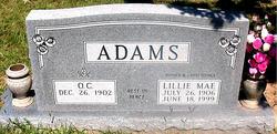 Lillie Mae <i>French</i> Adams