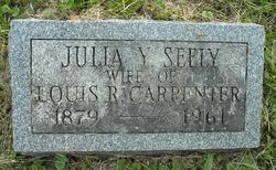 Julia Y <i>Seely</i> Carpenter
