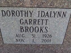 Dorothy Idalynn <i>Garrett</i> Brooks