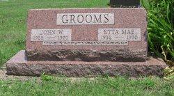 Etta Mae <i>Burris</i> Grooms