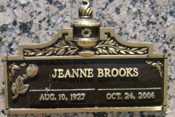Jeanne <i>Stone</i> Brooks