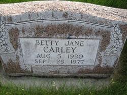 Betty Jane Carley