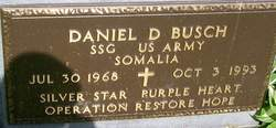 Sgt Daniel D Busch