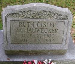 Ruth <i>Cisler</i> Schauwecker