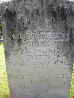Sarah <i>Campbell</i> Albee