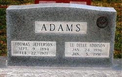 Lu Delle <i>Addison</i> Adams