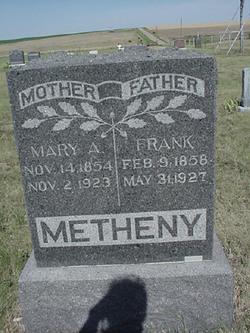 Mary Ann <i>Moore</i> Metheny