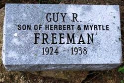 Guy Raymond Freeman
