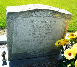Vicky <i>McGlaun</i> Ferguson