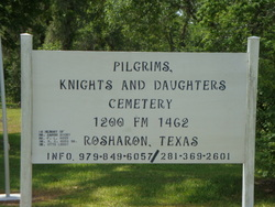 Pilgrims, Knights and Daughters Cemetery