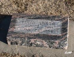 Edith <i>Carse</i> Abbuhl