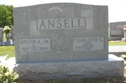 Charlotte Gerda <i>Walter</i> Ansell