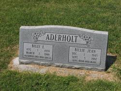 Billy E Aderholt