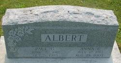 Anna E <i>Galebach</i> Albert