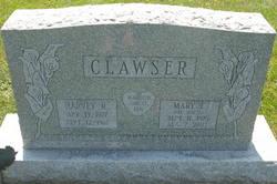 Mary E <i>Hoffer</i> Clawser