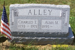 Alma M <i>Bonsell</i> Alley