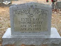 Estel Ray Throneberry