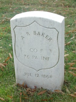 Pvt A. R. Baker