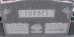 Walter Benjamin Forbes