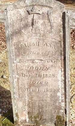 Sarah Ann <i>Rigsby</i> Crowder