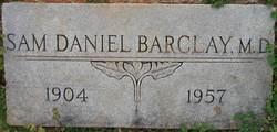 Dr Sam Daniel Barclay
