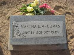 Martha Ellen <i>Pulsipher</i> McCommas
