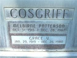 Melbirne Patterson Cosgriff