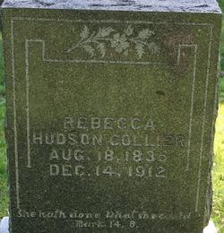 Rebecca <i>Hudson</i> Collier