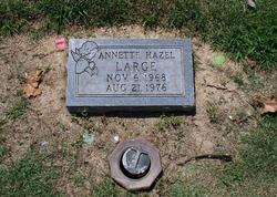 Hazel Annette Large