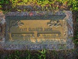 Mary Elizabeth <i>Hagin</i> Dixon