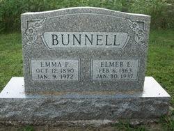 Emma P. <i>Burnett</i> Bunnell