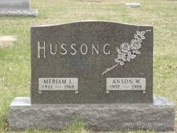 Anson W Hussong