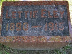 Bertha Lettie Eley