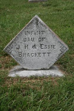 Infant daughter Brackett