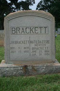 J H Brackett