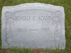 Beverly C Adams