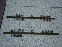 Alice Rebecca <i>Carraway</i> Akin