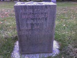 Margaret <i>Webster</i> Adams
