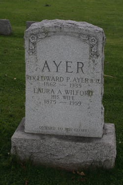 Laura A. <i>Wilford</i> Ayer