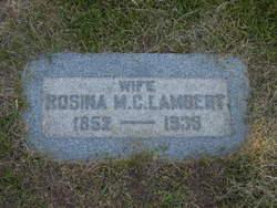 Rosina Matthews <i>Cannon</i> Lambert