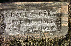 Grace Frances <i>Morris</i> Rees