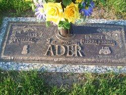 Avis J <i>Miller</i> Ader