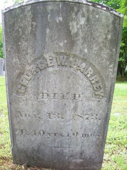 George W. Barrey