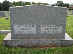 Hattie May <i>Main</i> Coblentz