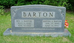 Bertha Ada <i>Fore</i> Barton
