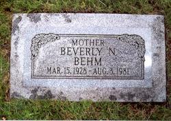 Beverly <i>Niederkorn</i> Behm
