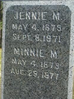 Jennie M. Burgess