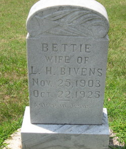 Bettie <i>Bookout</i> Bivens